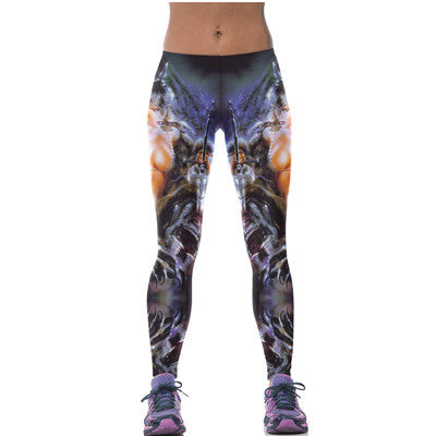 Digital Print Women Yoga Pants Sport Leggings Running Women Fitness Gym Workout Clothes Slim Yoga Tights Jogging Adventure Time