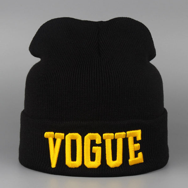 Autumn Winter Hat VOGUE Warm Sport Beanies Knitted Hats For Women  Men Beanie Ski Wool Caps De Inverno Gorros Skullies Beanies