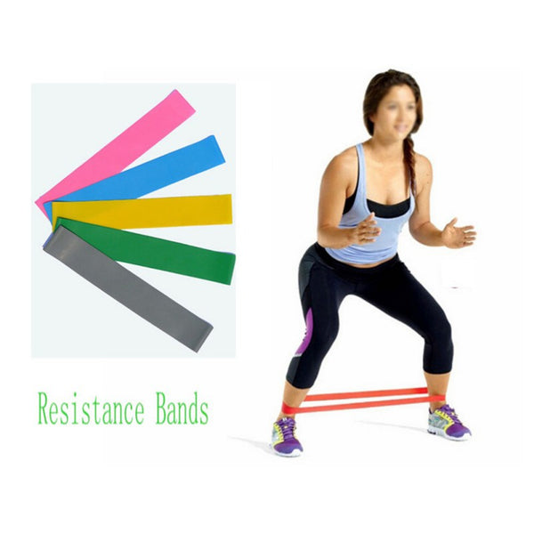Resistance band LOOP Light/Med/Heavy Exercise Sports Yoga Exercise Tubing Strap
