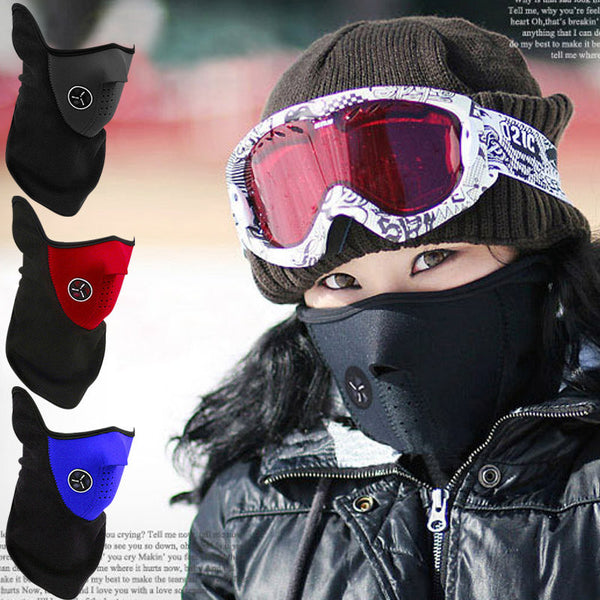 Black Ski Face Windproof Mask Balaclava Beanies Motorcycle Warm SKULL Ghost Outdoor Sports Warm Cap Bicycle Balaclavas Masks