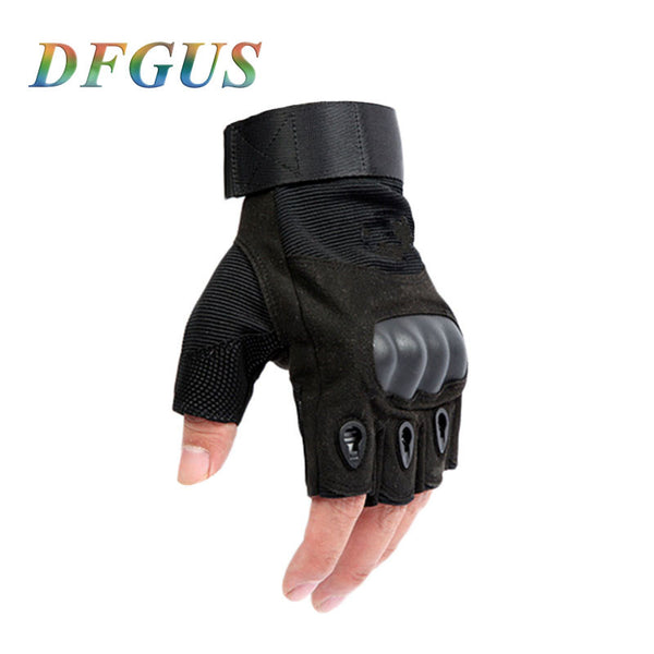 2015 tactical gloves for men fingerless army gloves climbing bicycle antiskid fitness sports workout gym training gloves PC004