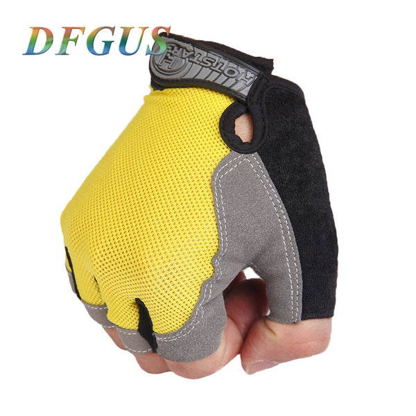 2016 Gym Gloves Sports Fitness Half Finger Weightlifting Gloves Exercise Training Multifunction for Men & Women Free Shipping