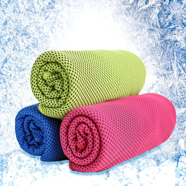 Creative Cold Towel Summer Exercise Sweat Ice Cooling Towel Sports Travel Gym Swimming Running Yoga Quick Drying Towel