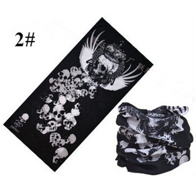 #New Arrival#Windproof Bicycle Seamless Magic Bandana Cycling Headband Outdoor Sport Ski Bandana Headwear Mask Bicycle Scarf