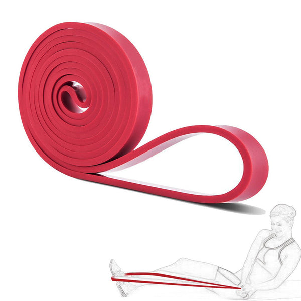 Free Shipping portable Fitness Equipment Latex Expander Loop Resistance Power Bands Rubber Yoga Asist Bands 2080*4.5*13 mm