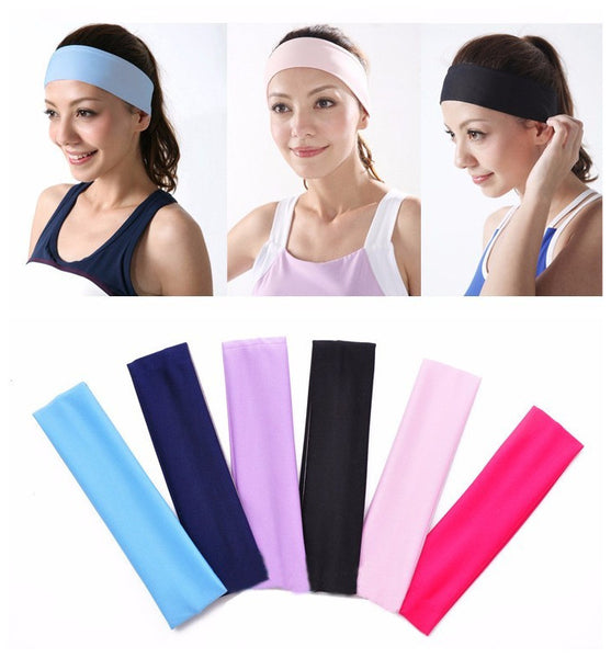 Free Shipping Multicolor Durable Sweat absorbent Yoga towel Hair band for Yoga and pilates exercise#2080  B1