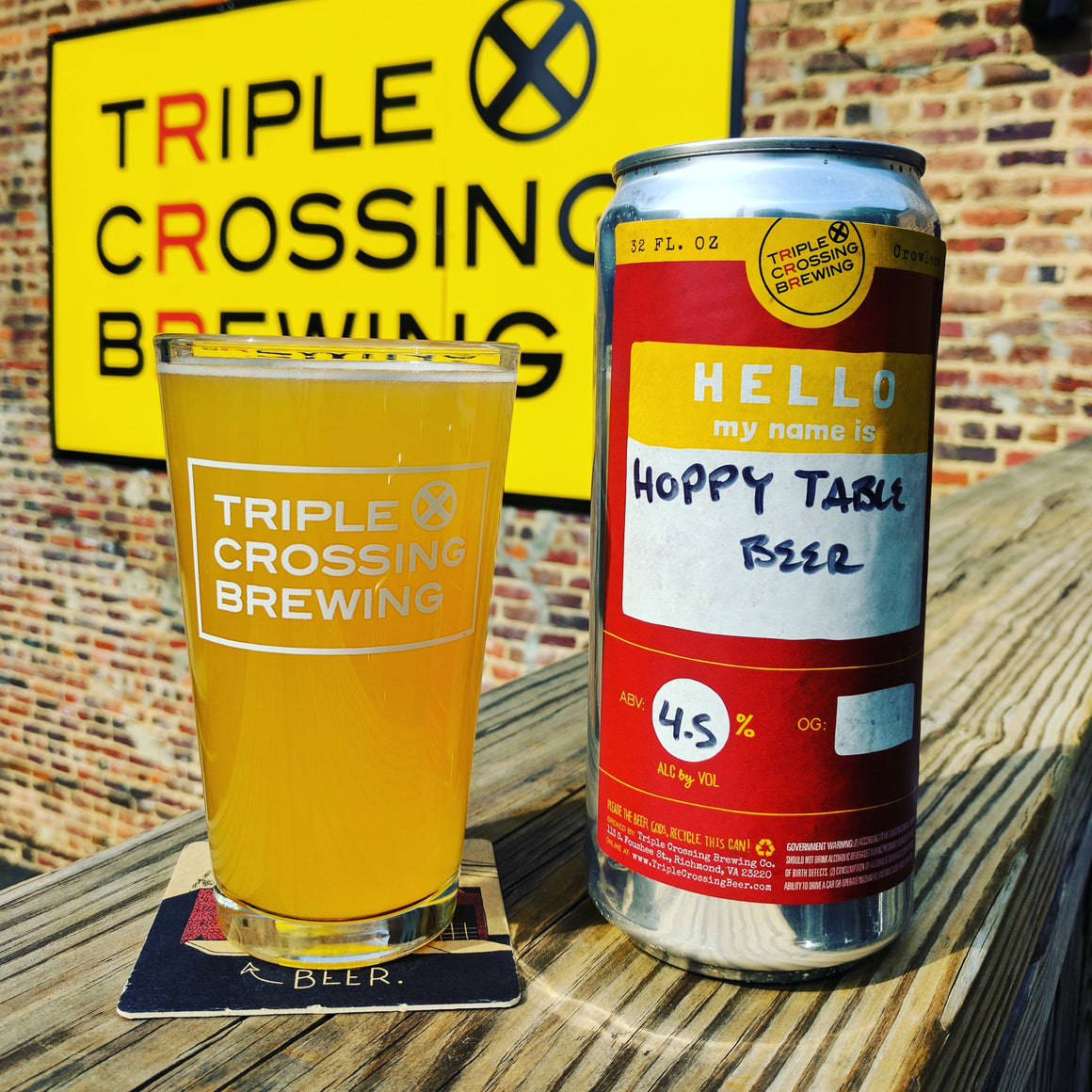 Hoppy Table Beer, 32oz