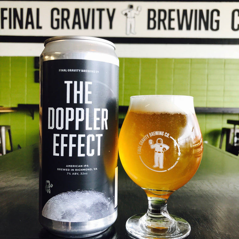 Doppler Effect IPA, 32oz