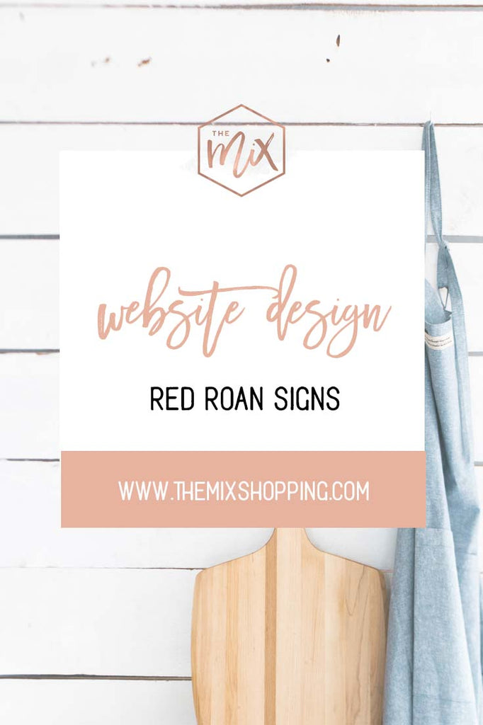 Website Design Services | Red Roan Signs