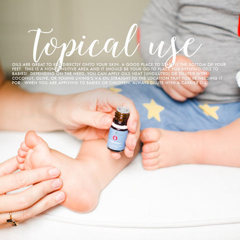 Topical use of oils