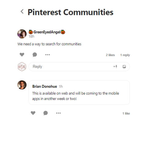 Pinterest Communities How to The Mix