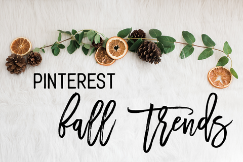 Pinterest Fall Trends