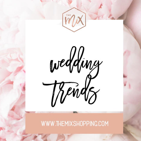 WEding Trends on Pinterest