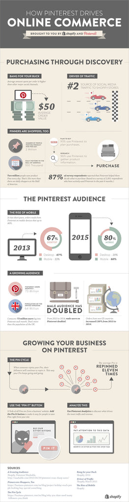 Pinterest Infographic the Mix