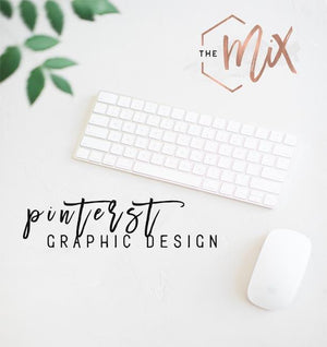 Pinterest Graphic Design Package - Social Media Graphic Design