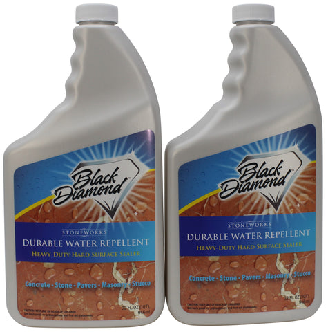 DURABLE WATER REPELLANT Penetrating Sealer: Concrete Driveways, Brick, Masonry, Pavers. Protects Surface up to 10 Years.