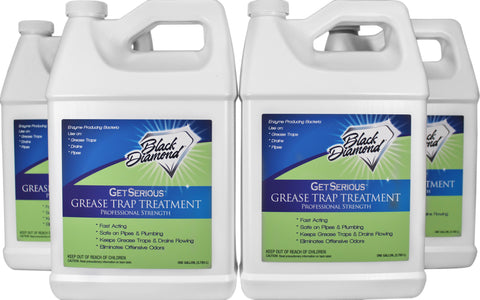 GET SERIOUS Grease Trap Treatment 1- Gallon