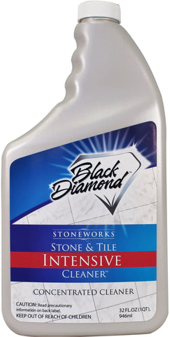 Stone & Tile Intensive Cleaner Concentrate - 1 Quart By Black Diamond Stoneworks