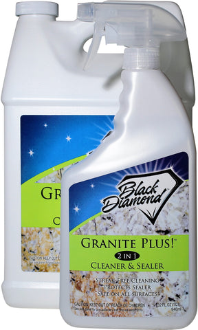 Granite Plus! 2 in 1 Cleaner & Sealer More Size Options Available