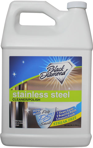 Stainless Steel Cleaner & Polish Best Streak Free Clean & Shine for all Appliances Refrigerators, Oven, Stove, Dishwasher and more.