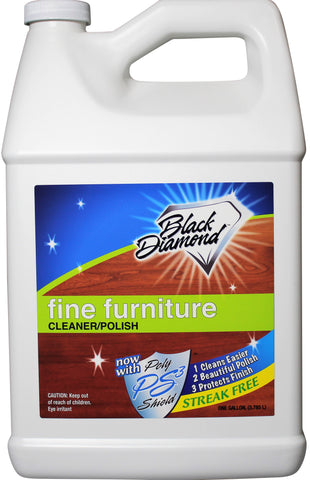 Fine Furniture Cleaner & Polish: Add a Beautiful Spray Shine to your Furniture and Wood Cabinets. By Black Diamond Stoneworks.