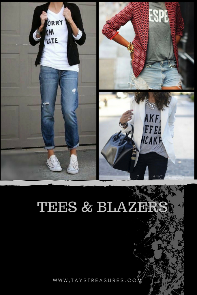 Stylish ways to Rock a T-Shirt