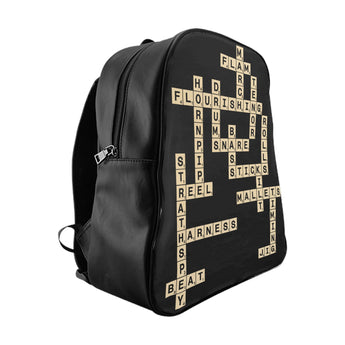 Pipe Band Drummer Scrabble Backpack
