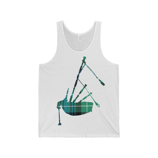 Tank Top Tartan Bagpipe Tank Top - Gracenote Apparel
