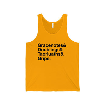 Tank Top Gracenotes, Doublings, Taorluaths, and Grips Tank Top - Gracenote Apparel