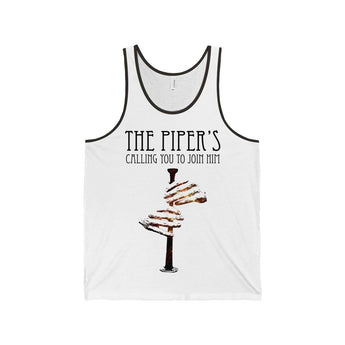 "Tank Top ""The Piper's Calling You To Join Him"" Unisex Tank Top - Gracenote Apparel"