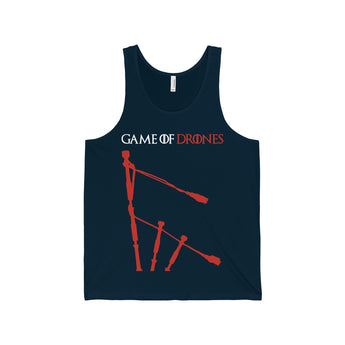 Tank Top Game of Drones Unisex Tank Top - Gracenote Apparel