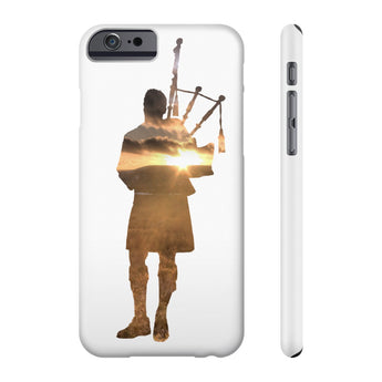 Phone Case Sunset over Highlands - Bagpiper Phone Case - Gracenote Apparel