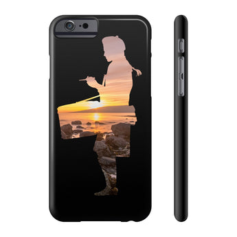 Phone Case Snare Drummer Sunset Over Water and Rocks Phone Case - Gracenote Apparel