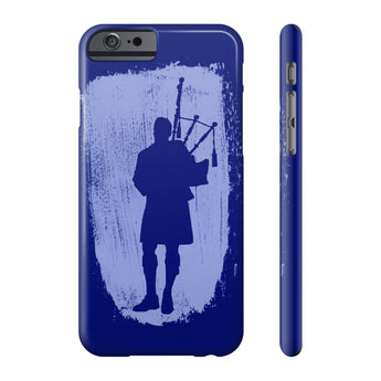 Phone Case Bagpiper Paint Stroke Phone Case - Gracenote Apparel