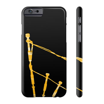 Phone Case Gold Drones Phone Case - Gracenote Apparel