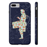 Phone Case Snare Drumming Floral Pattern & Vines Phone Case - Gracenote Apparel