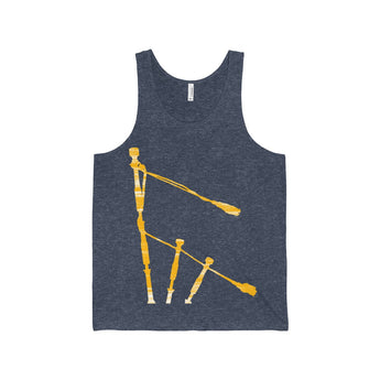 Tank Top Gold Drones Tank Top - Gracenote Apparel