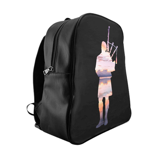 Bags Sunset Reflection Bagpiper Backpack - Gracenote Apparel
