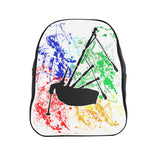 Bags Bagpiper Paint Splatter Backpack - Gracenote Apparel