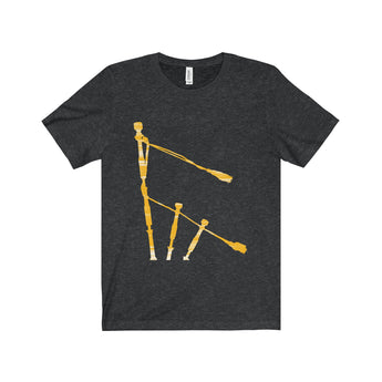 T-Shirt Gold Drones Unisex Crew Neck T-Shirt - Gracenote Apparel