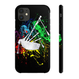 Bagpipe Paint Splatter Phone Case