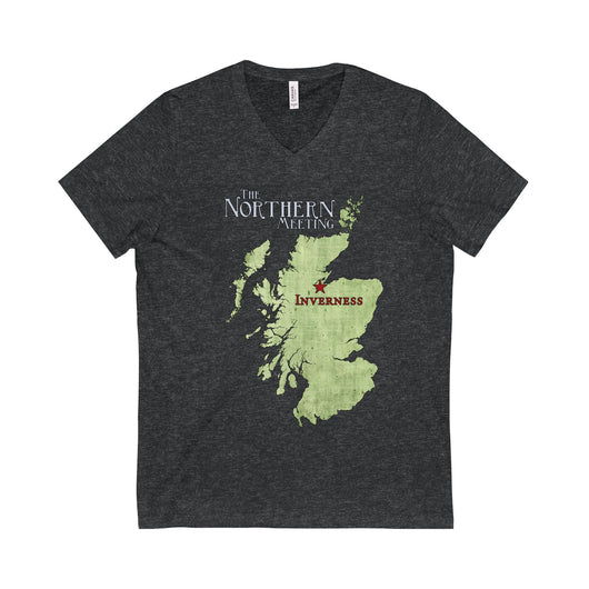 V-neck Northern Meeting Gold Medalists V-Neck T-Shirt - Gracenote Apparel