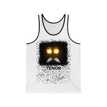 Tank Top Fiery Tenor Drummer Unisex Tank Top - Gracenote Apparel