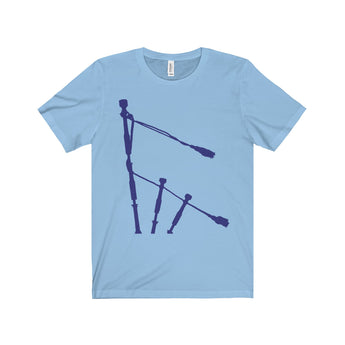 T-Shirt Blue Drones Unisex Crew Neck T-Shirt - Gracenote Apparel