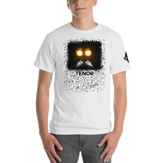 Fiery Tenor Drummer Unisex T-Shirt - Gracenote Apparel