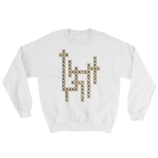 Bagpipe Scrabble Sweater - Gracenote Apparel