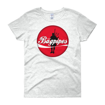Enjoy Bagpipes! Women's Crew Neck T-Shirt - Gracenote Apparel