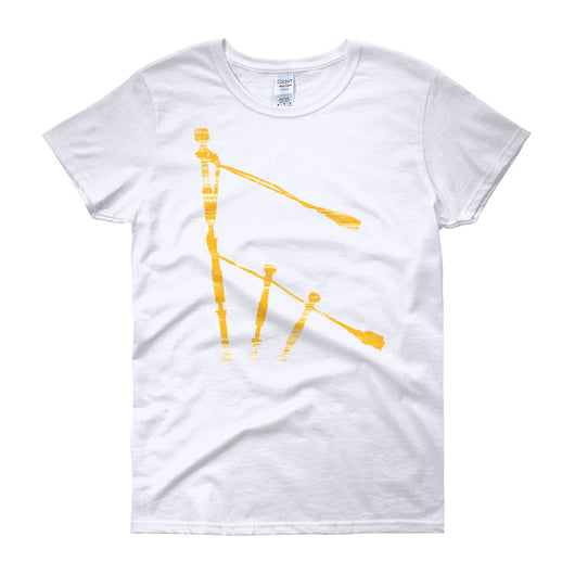 Gold Drones Women's Crew Neck T-Shirt - Gracenote Apparel
