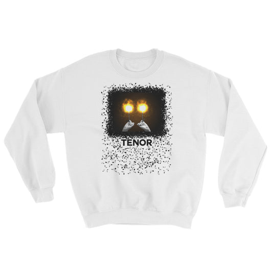 Fiery Tenor Drummer Sweater - Gracenote Apparel