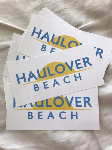 Haulover Beach Bumper Sticker